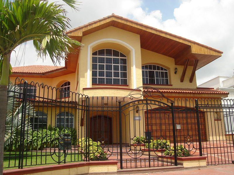 Fachadas para casas de dos pisos for Fachadas modernas para casas de dos pisos