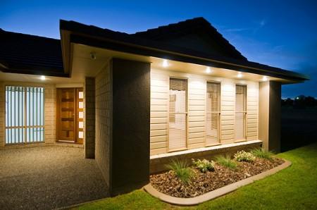 Fachadas para casas de una planta, gratis
