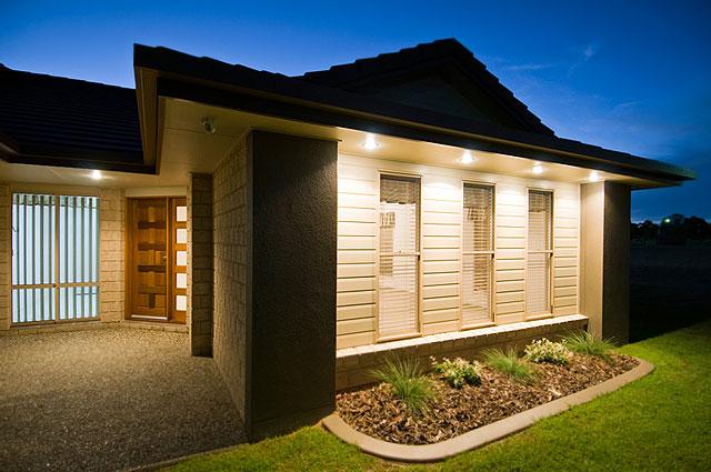 Fachadas para casas de una planta for Modelos de fachadas de casas