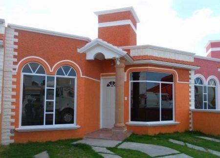Fachadas para casas mexicanas.