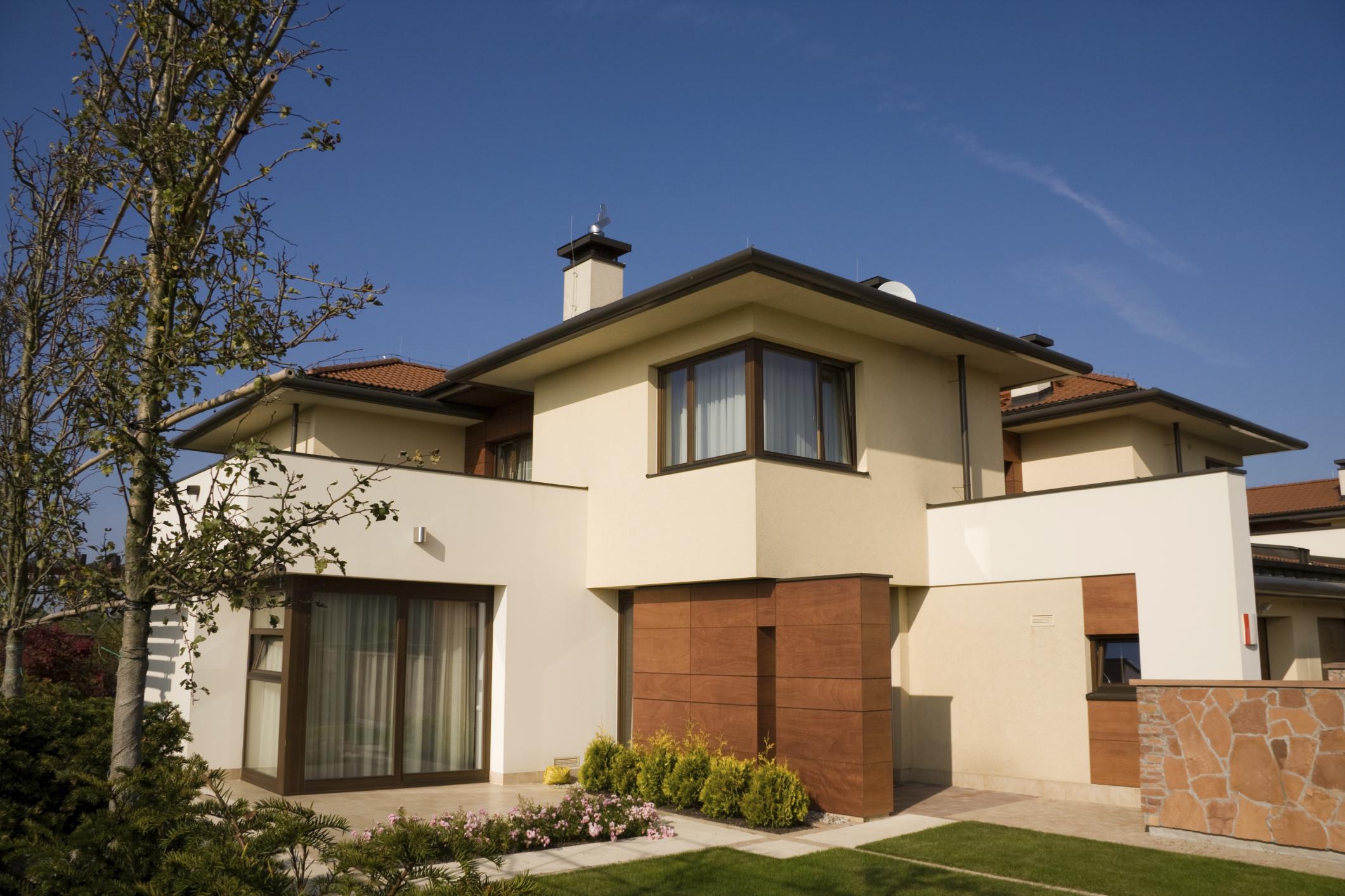 Fachadas para casas for Colores de casa para afuera