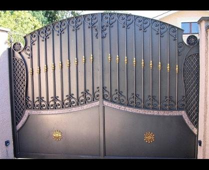 Fotos de puertas de herrería, tipos