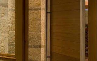 Casas modernas for Puertas pequenas exterior