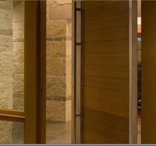 Fotos de puertas de madera exterior.