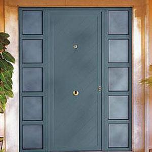 Fotos de puertas met licas for Puertas metalicas modernas para exterior