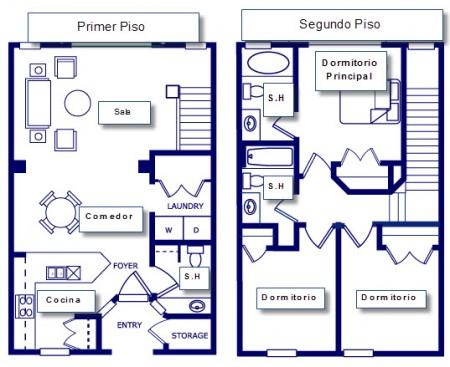 Planos para construir casas amplias