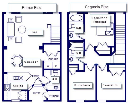Planos para construir casas for Planos de casas 200m2