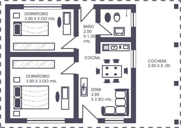 Planos para construir casas - Planos faciles de casas ...