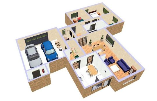 Planos para construir casas for Programa para hacer planos arquitectonicos