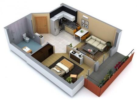 Planos para construcción casas pequeñas y económicas