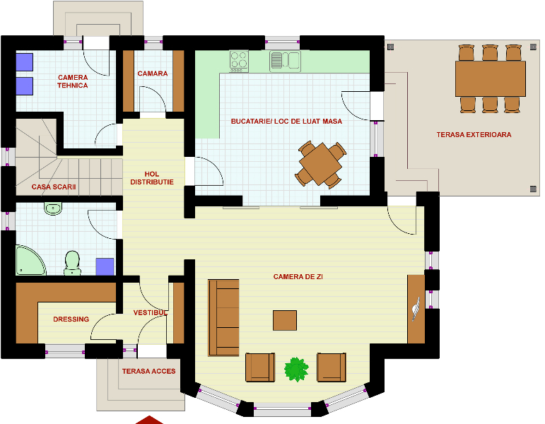 planos arquitect nicos de casas de dos plantas