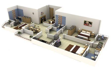 Planos de casas de 3 recamaras para buscar