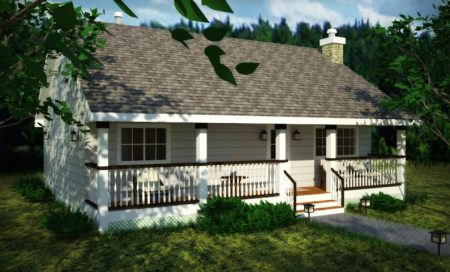 Planos de casas de campo gratis.