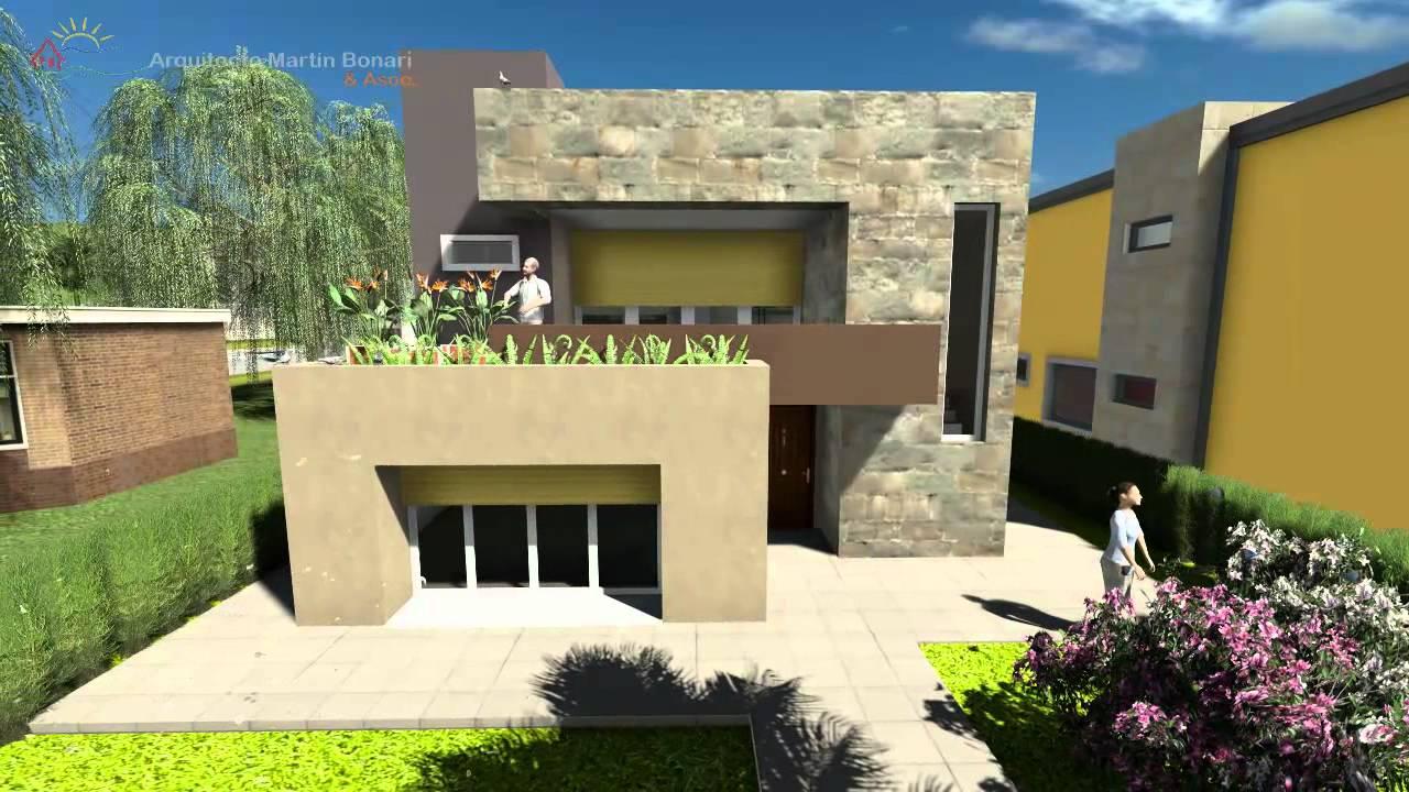 Planos de casas de dos pisos modernas for Planos arquitectonicos de casas de dos plantas