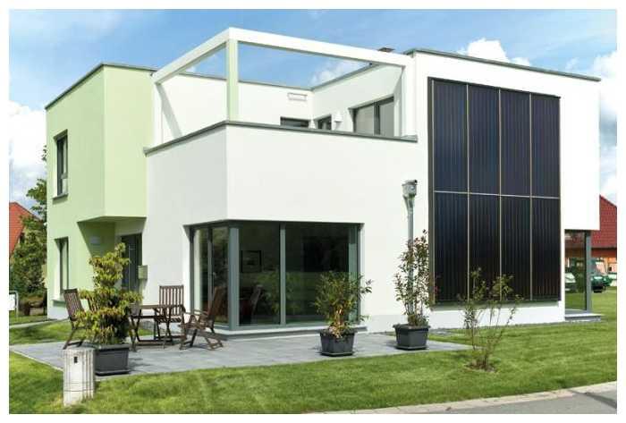 Planos de casas de dos pisos modernas for Diseno chalet una planta