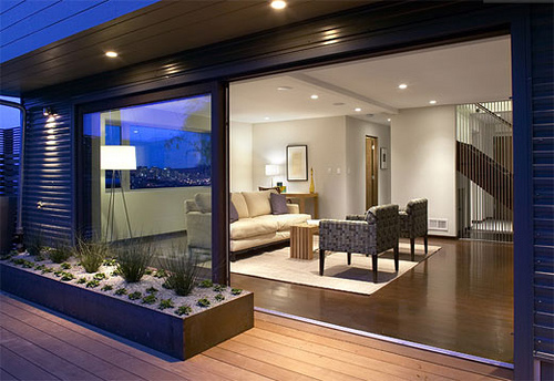 Planos modernos y minimalistas for Casas pequenas interiores