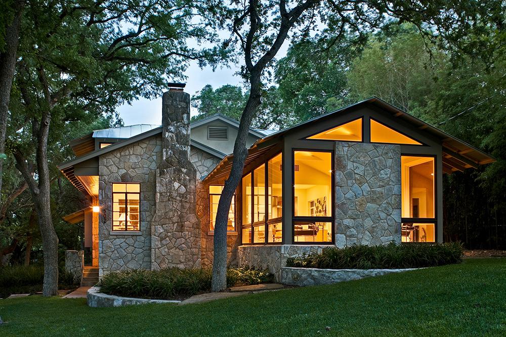 Fachadas de casas de campo de un piso for Casas modernas rusticas