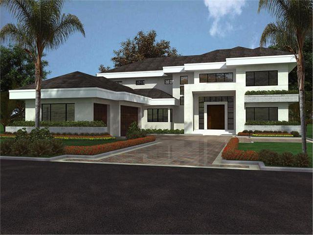 Casas modernas for Casa moderna 5 dormitorios