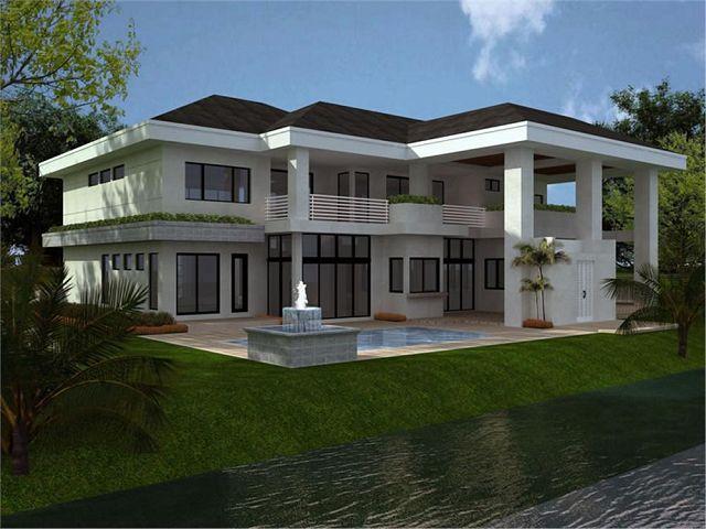 Casas modernas for Fachadas de casas modernas gratis