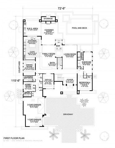Planos casas modernas 3