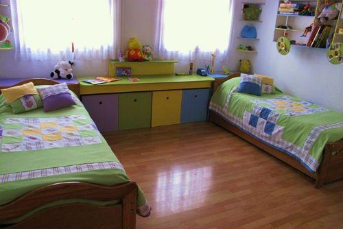 dormitorios unisex
