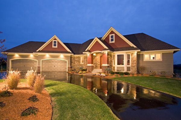 casa lujosa - vista exterior