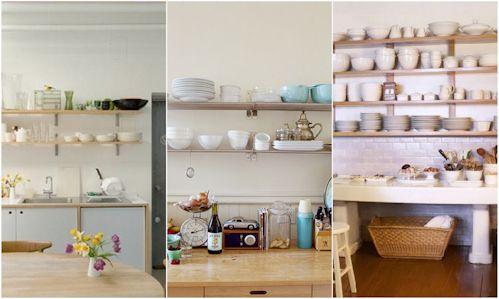 cocinas estantes
