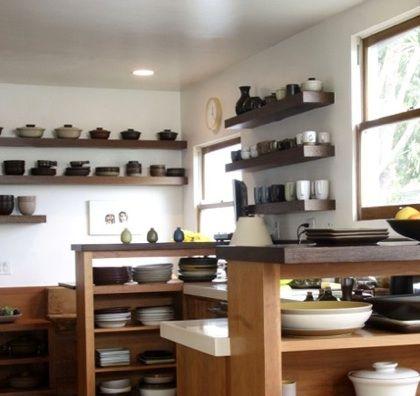 estantes para cocinas