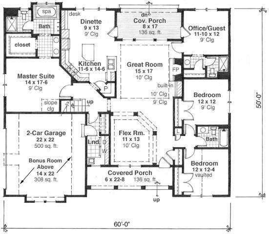 Plano planta baja 5 habitaciones for Diseno casa planta baja