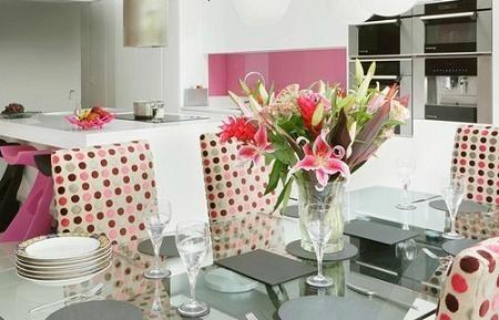 Cocinas rosas