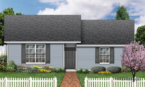 casa sencilla de dos habitaciones
