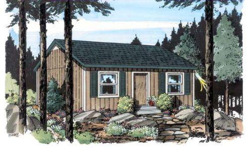 Casa campo pequeña
