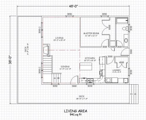 plano casa campo antigua