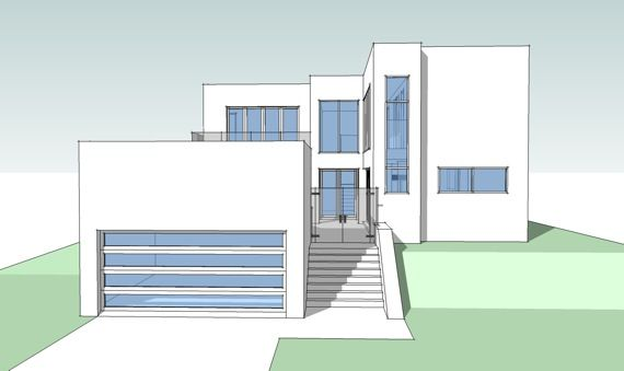 Casa con piscina interior y spa for Websites to design houses for free