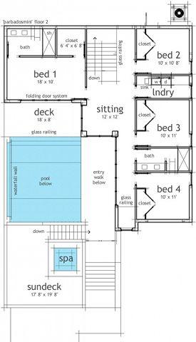 Casa con piscina interior y spa for Casas modernas con piscina interior