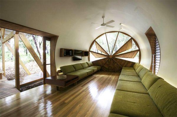 Casa moderna tubular