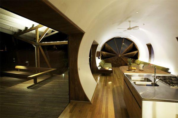 casa moderna tubo