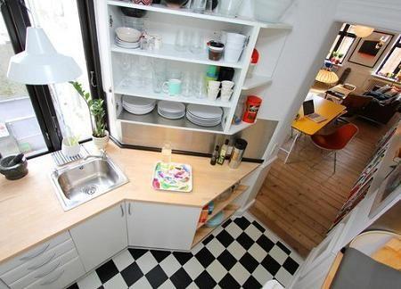 entrada cocina pequeña