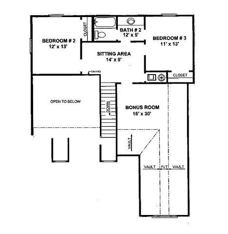 plano planta alta casa tradicional