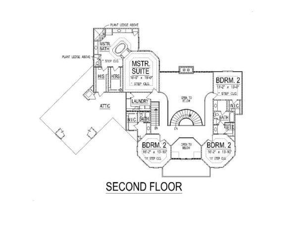 Plano castillo primer piso