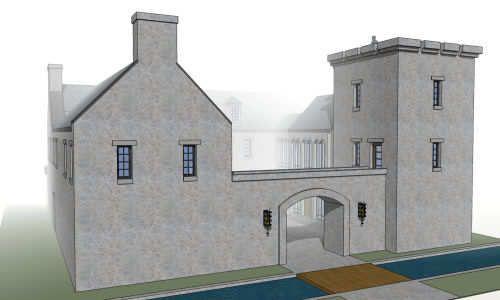 plano mansion castillo