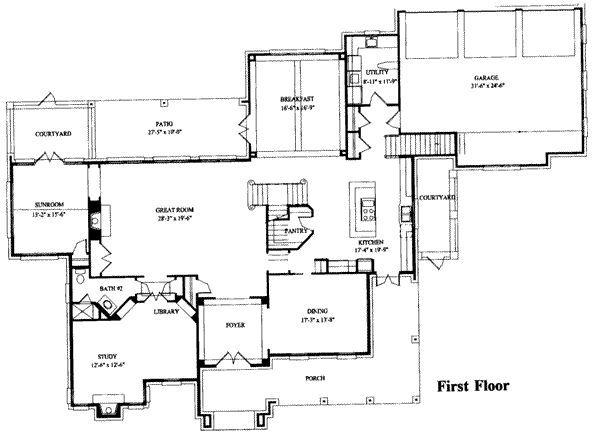 planta baja casa colonial 6 habitaciones