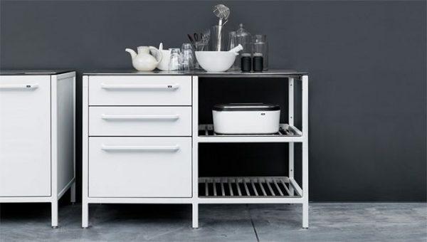Mueble de cocina moderna