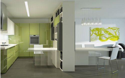 oficina en cocina