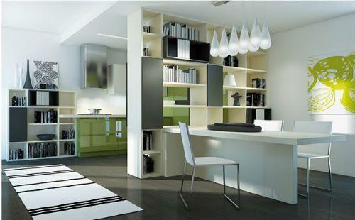 oficina y cocina