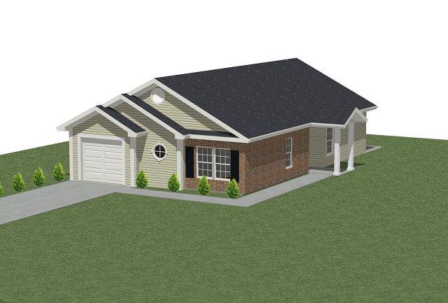 Planos de casa tradicional de techo a dos aguas for Sobretechos para casas
