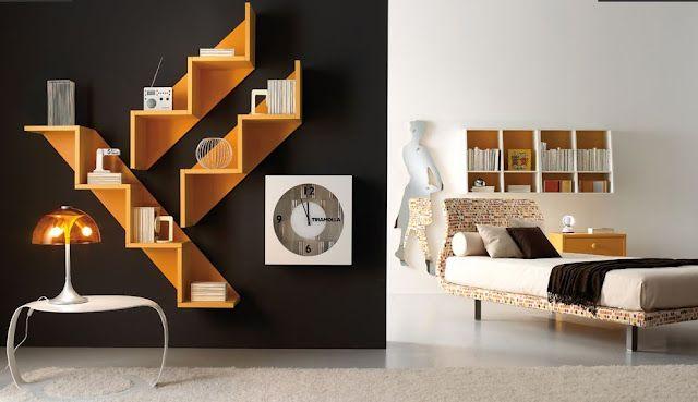 estantes para dormitorios