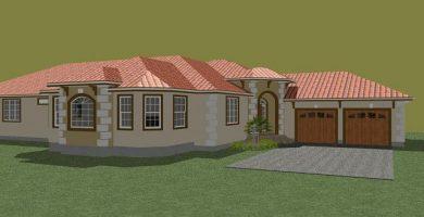 Muy espaciosa casa de estilo mediterráneo