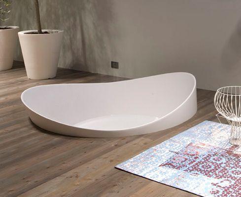 bañera sofisticada