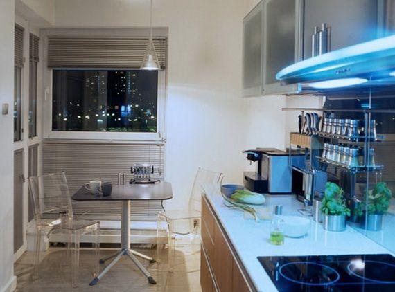 cocina luz natural ciudad